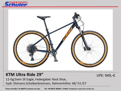 KTM Ultra Flite 27 MTB