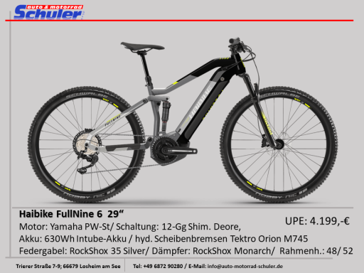 Haibike S-Duro Fullnine 6 Fully