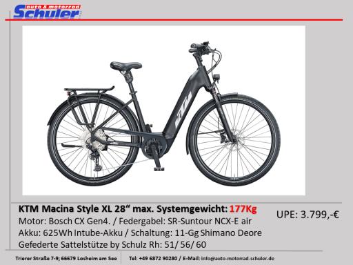 KTM Macina Style XL